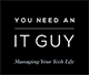 You Need An IT Guy Mobile Logo